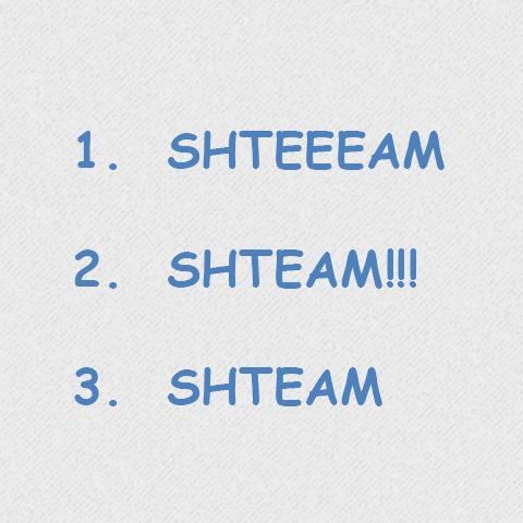 Project shteam